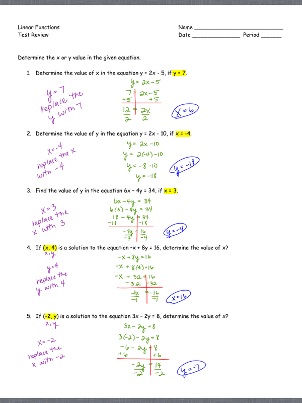 linear equations assignment ms ulrich s algebra class create a website